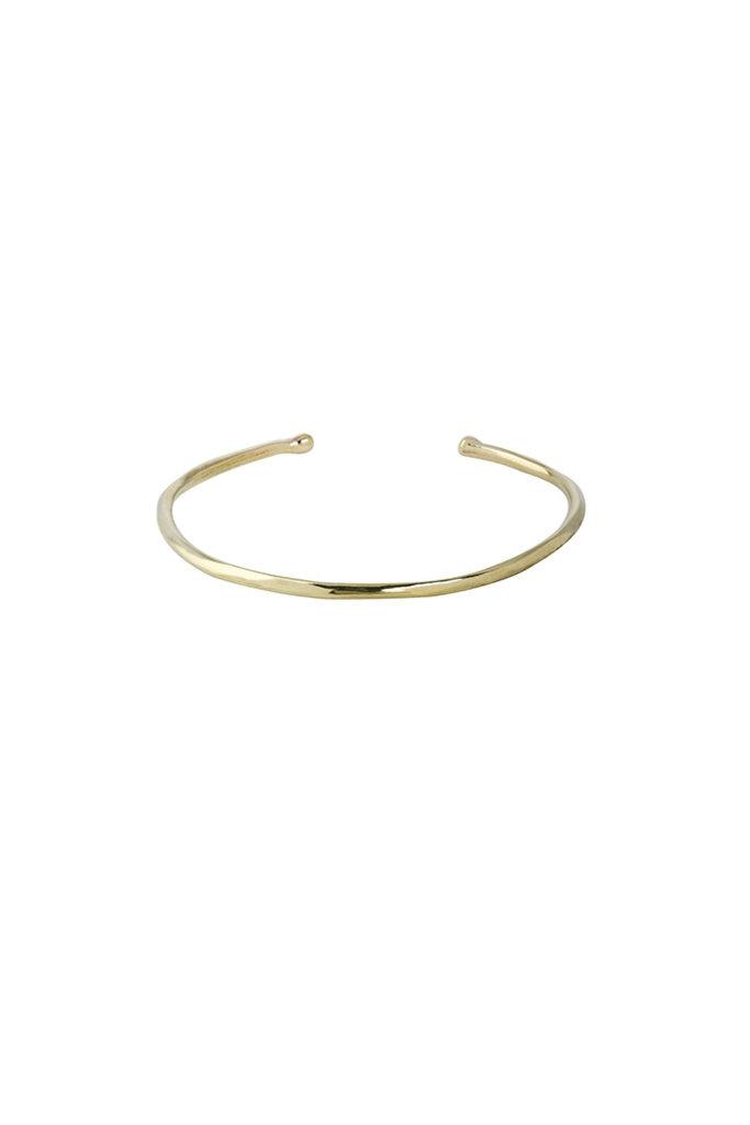 Everyday Brass Cuff Bracelet