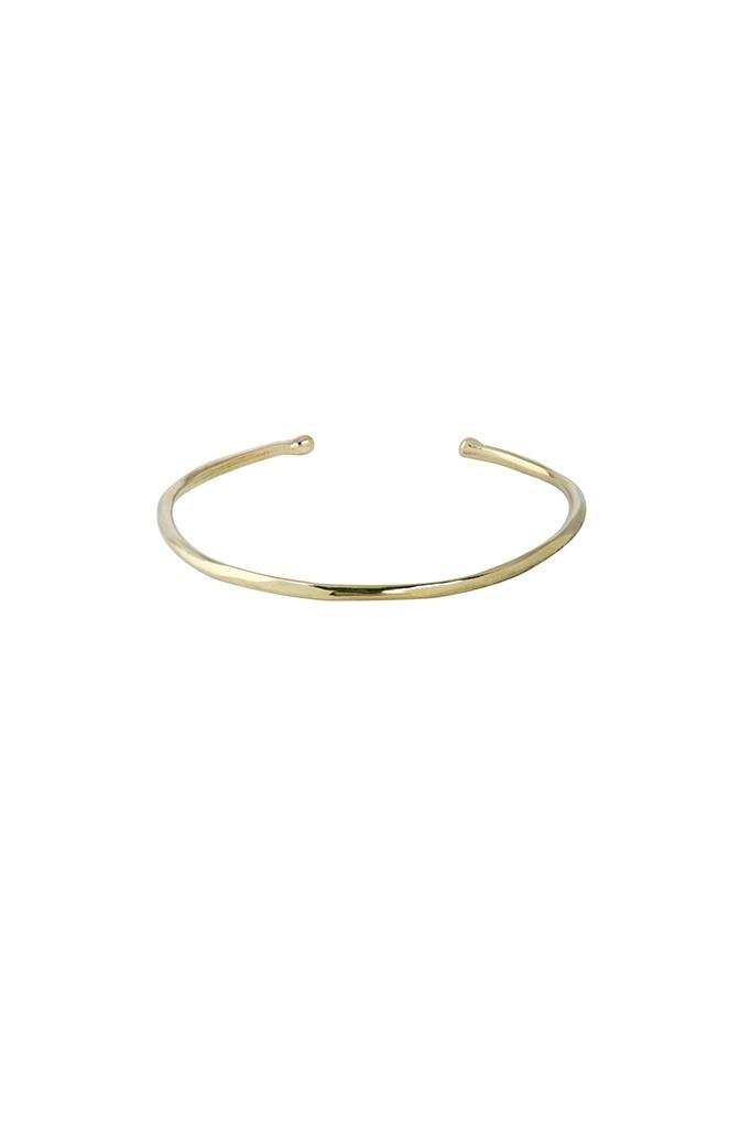 Simple Brass Cuff Bracelet