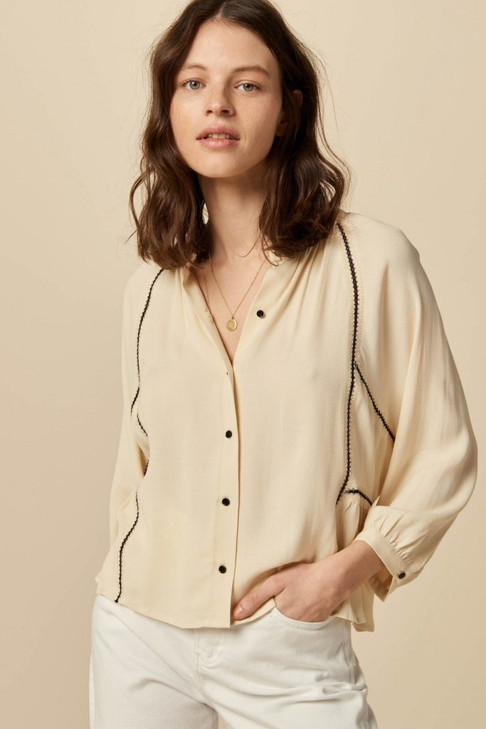 Sessun Cienega Embroidered Blouse