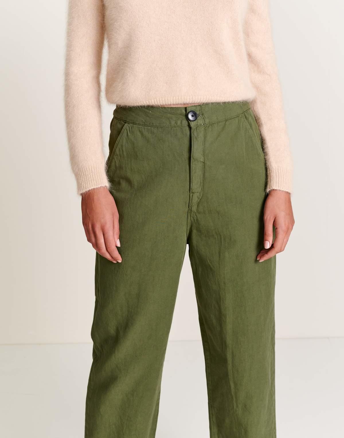 Bellerose Bellerose Pasop Cropped Pants