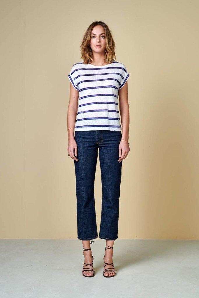 Bellerose Sevia Striped Linen T Shirt