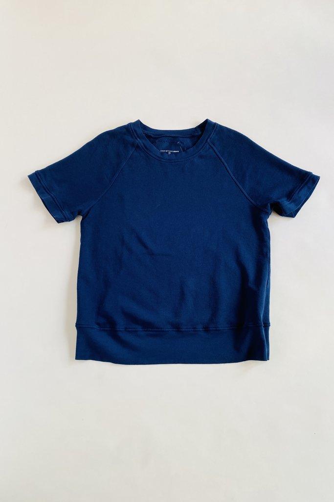 christina Lehr Varsity Cotton  Sweatshirt