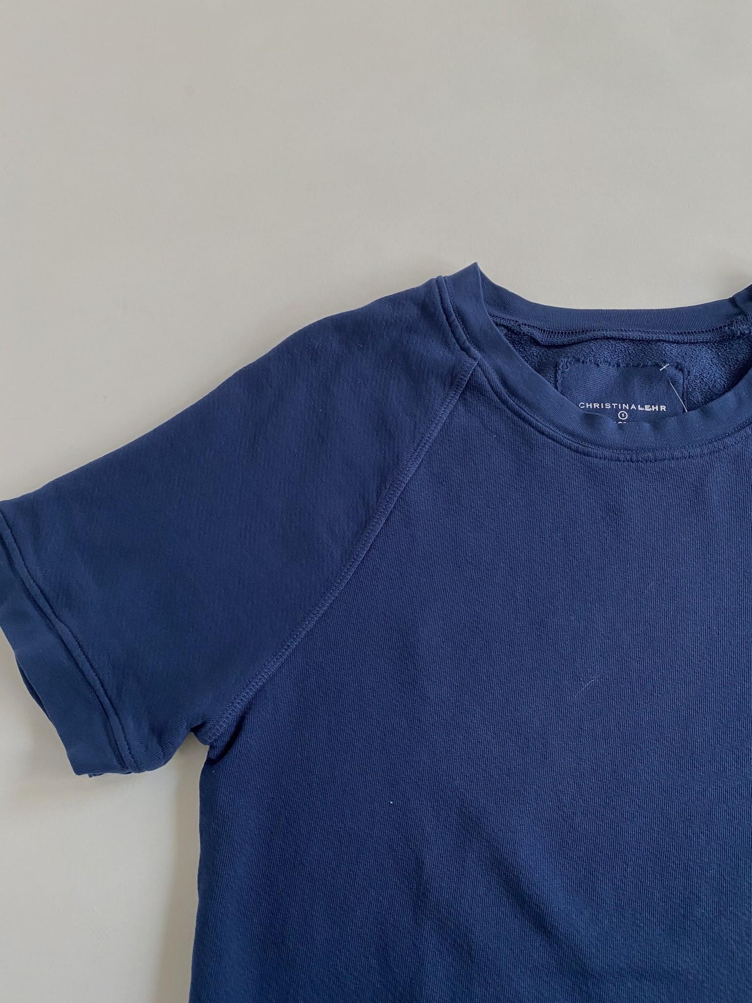 christina Lehr Christina Lehr Varsity  Cotton Sweatshirt