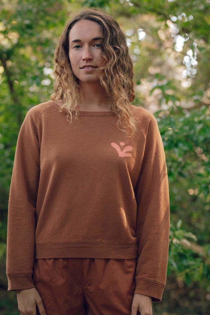 Mollusk  Hemp and Cotton Blend Crewneck Sweatshirt
