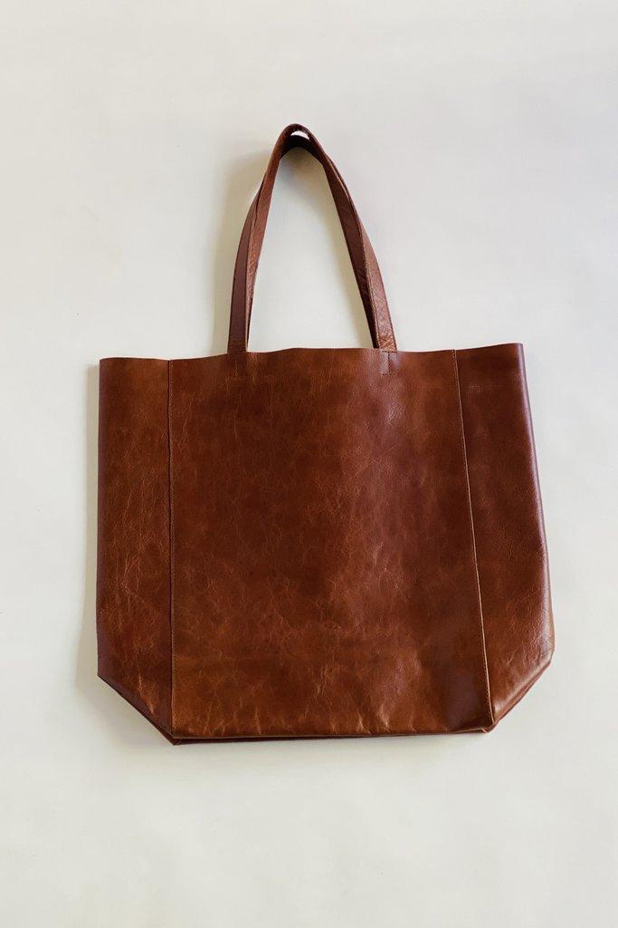 Bellerose Nirya Unlined Leather Tote Bag