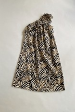 Diega Diega Rachela One-Shoulder Ruffle Dress