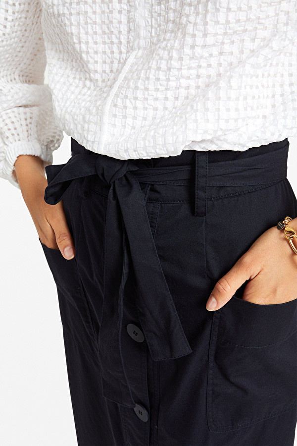Otto D'Ame  Button Skirt
