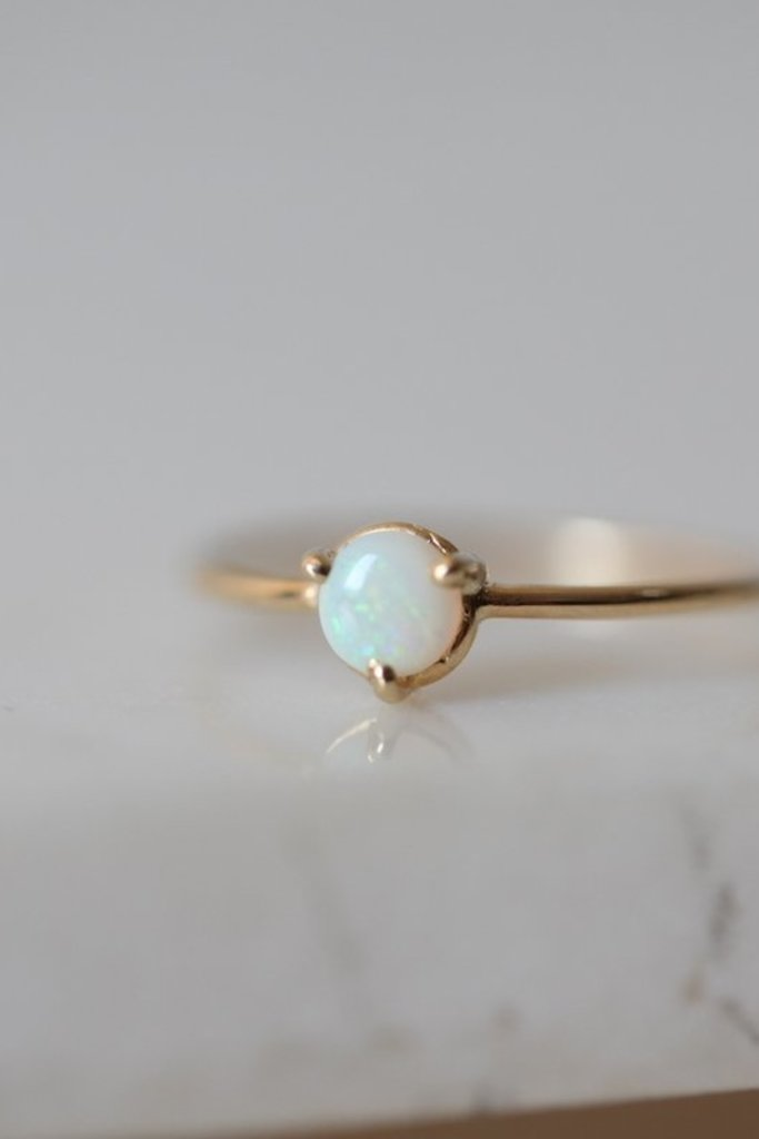 Gjenmi Gjenmi Dream 14KT Gold and Opal Ring