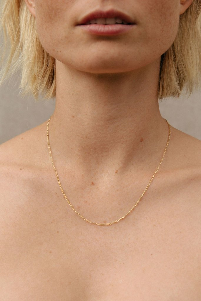 Vermeer Bianca Gold Fill Chain Necklace