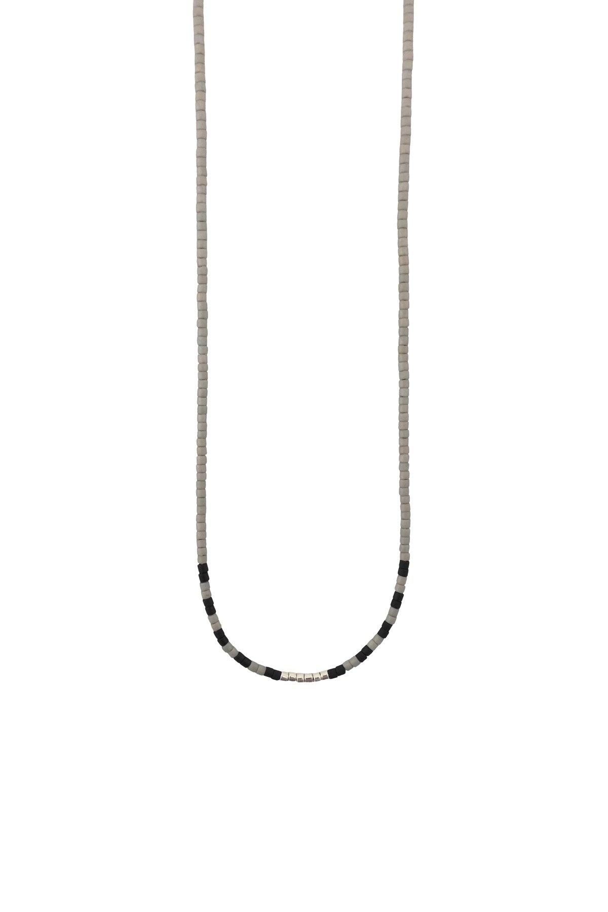 Abacus Row Aspy Beaded Necklace
