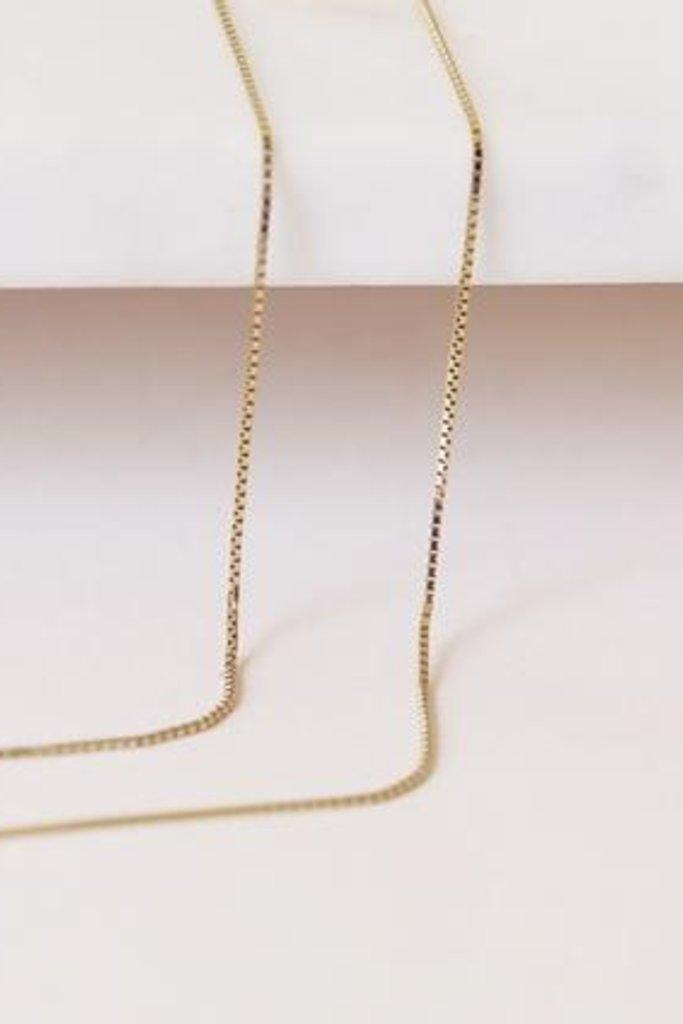 Gjenmi Gjenmi Box Chain Bracelet