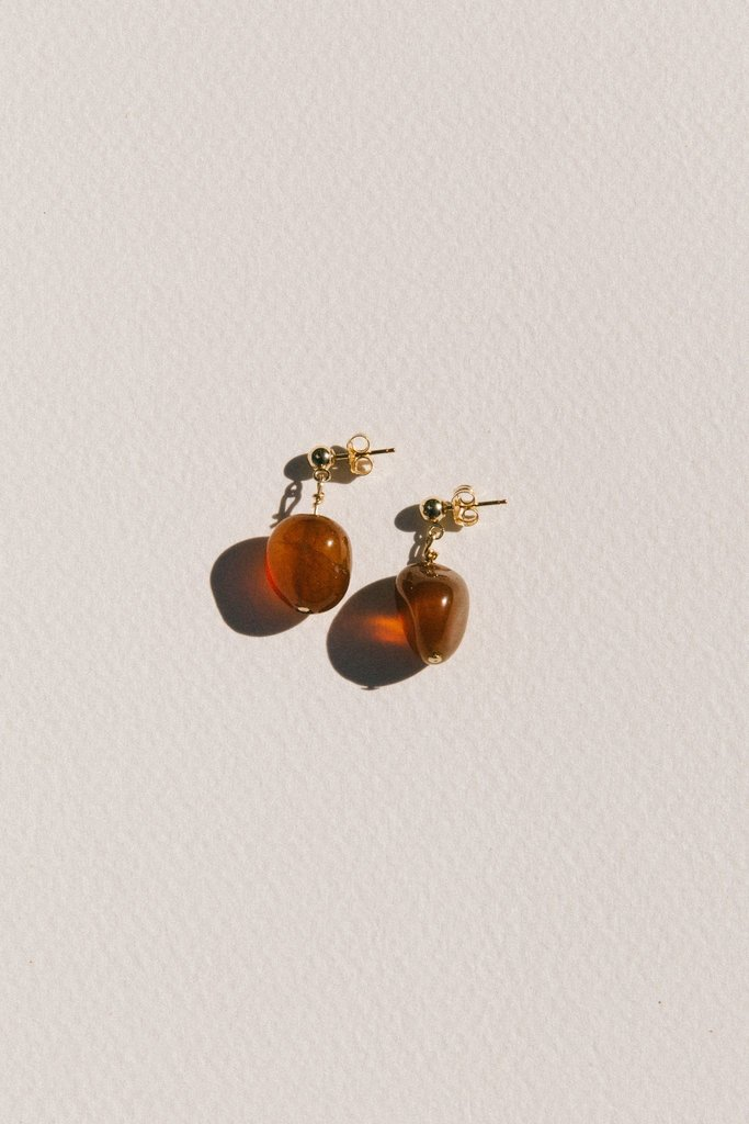 Vermeer Vermeer Valentine Agate Drop Earrings