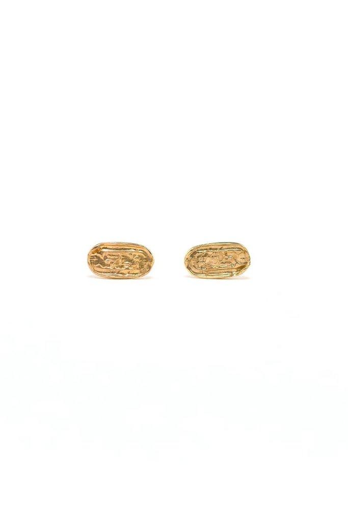 I Like It Here Club Francoise Gold Plated Earrings