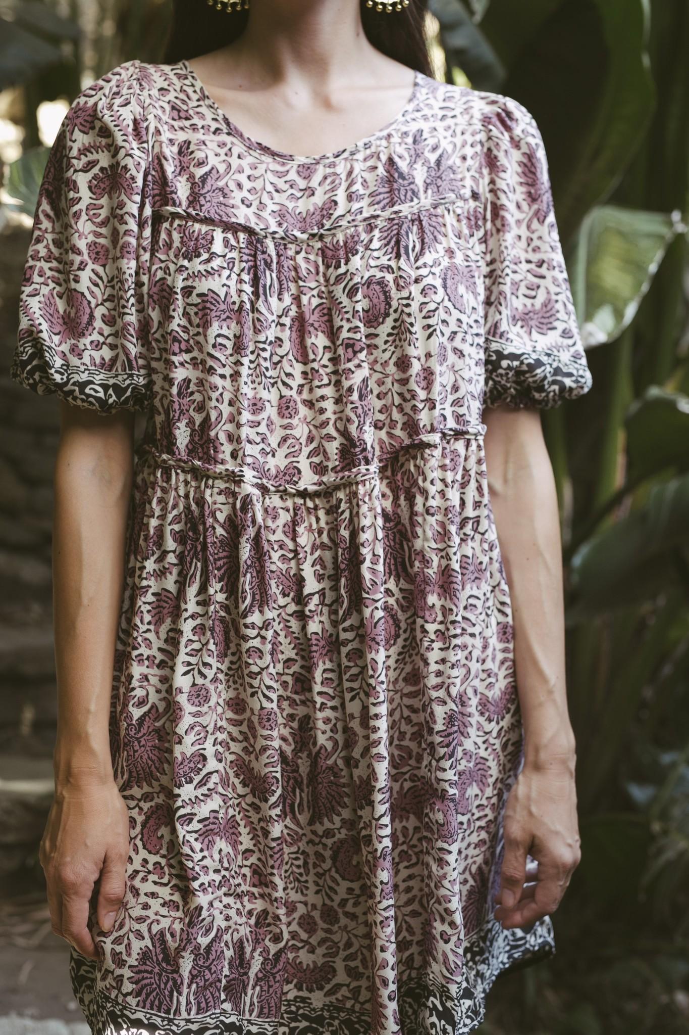 Natalie Martin Natalie Martin Haley Short Printed Dress