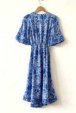 Natalie Martin Natalie Martin Coco Dress Corfu Blue