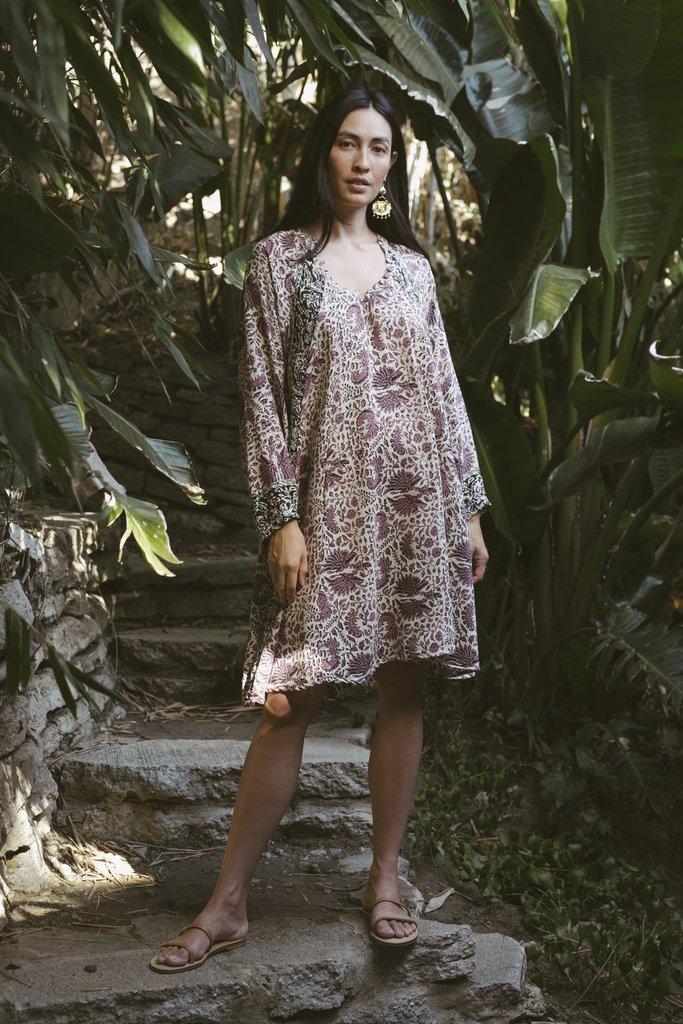 Natalie Martin Natalie Martin Fiore Santorini Print Dress