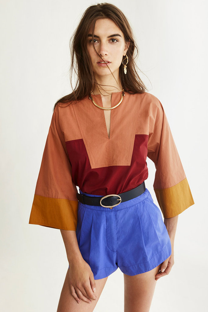 vanessa Bruno Vanessa Bruno Nam Colorblock  Blouse- size 36