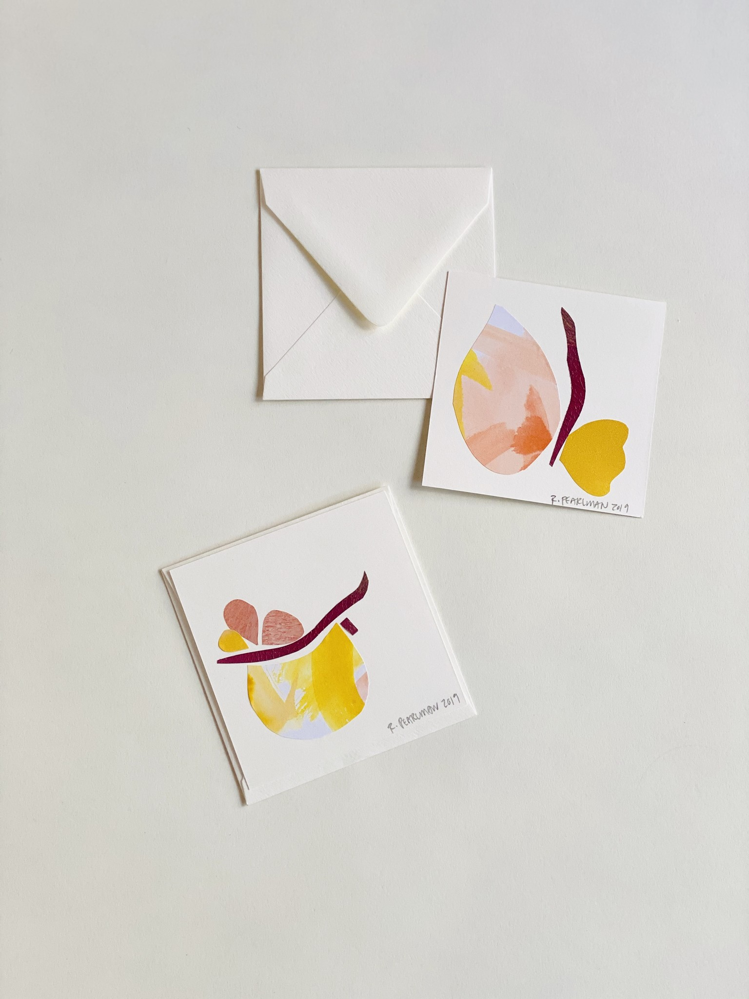 Rose Pearlman Collage Cards Handmade In Brooklyn