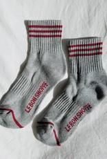 Le Bon Shoppe Girlfriend Socks O/S heather Grey