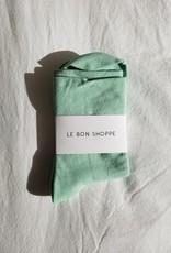 Le Bon Shoppe Pump Socks O/S Mintchip