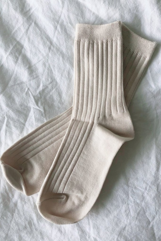 Le Bon Shoppe Her Sock MC Cotton Porcelain