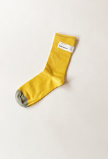 Uni Contrast Toe Solid Trouser Socks