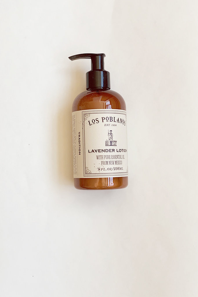 Los Poblanos Organic Lavender Hand Lotion 8 oz