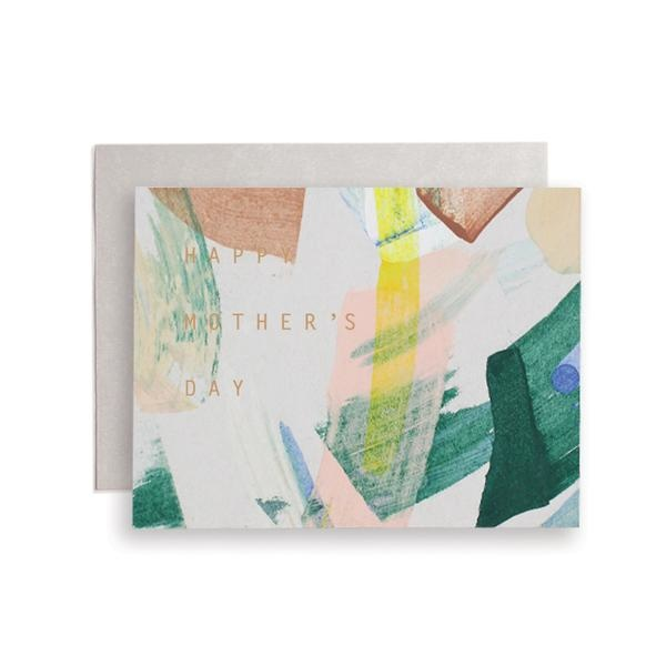 Moglea Mom Swirl You Abstract Mother's Day Greeting Card