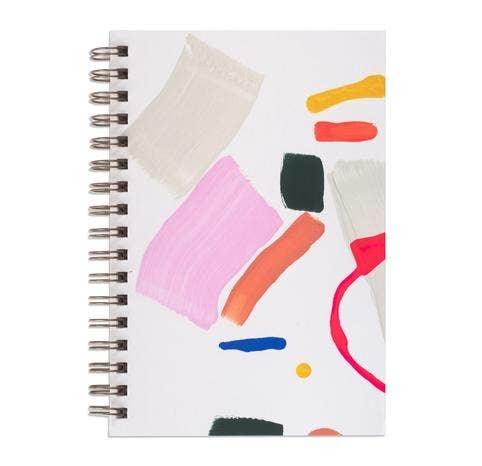 Moglea Trapeze Painted Notebook