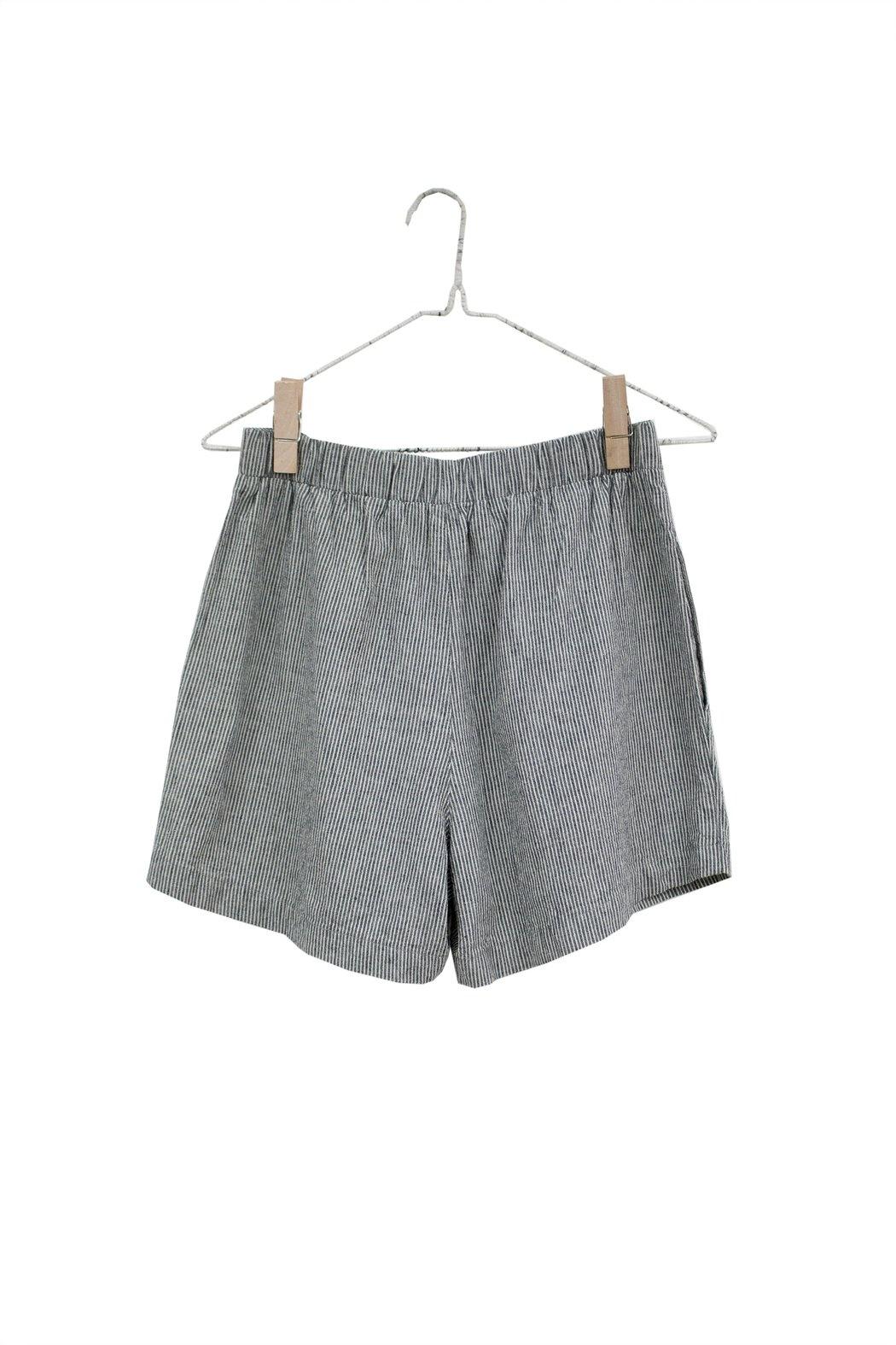 It Is Well L.A. Easy Stripe Linen Shorts