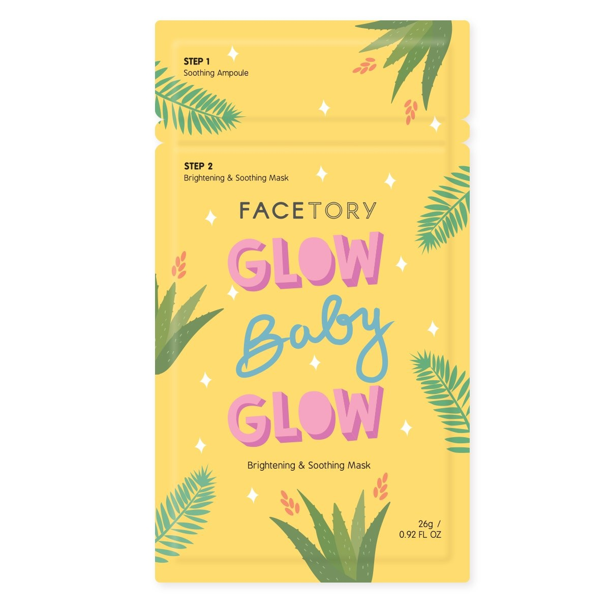 FaceTory FaceTory Glowing Gift Set (6 Sheet Masks)