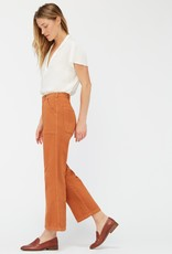 lacausa Lacausa Straight Leg Patch Pocket Arlo Trousers