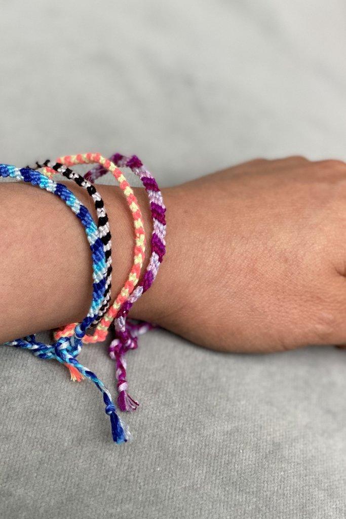 Care Bracelet- Cotton Braided