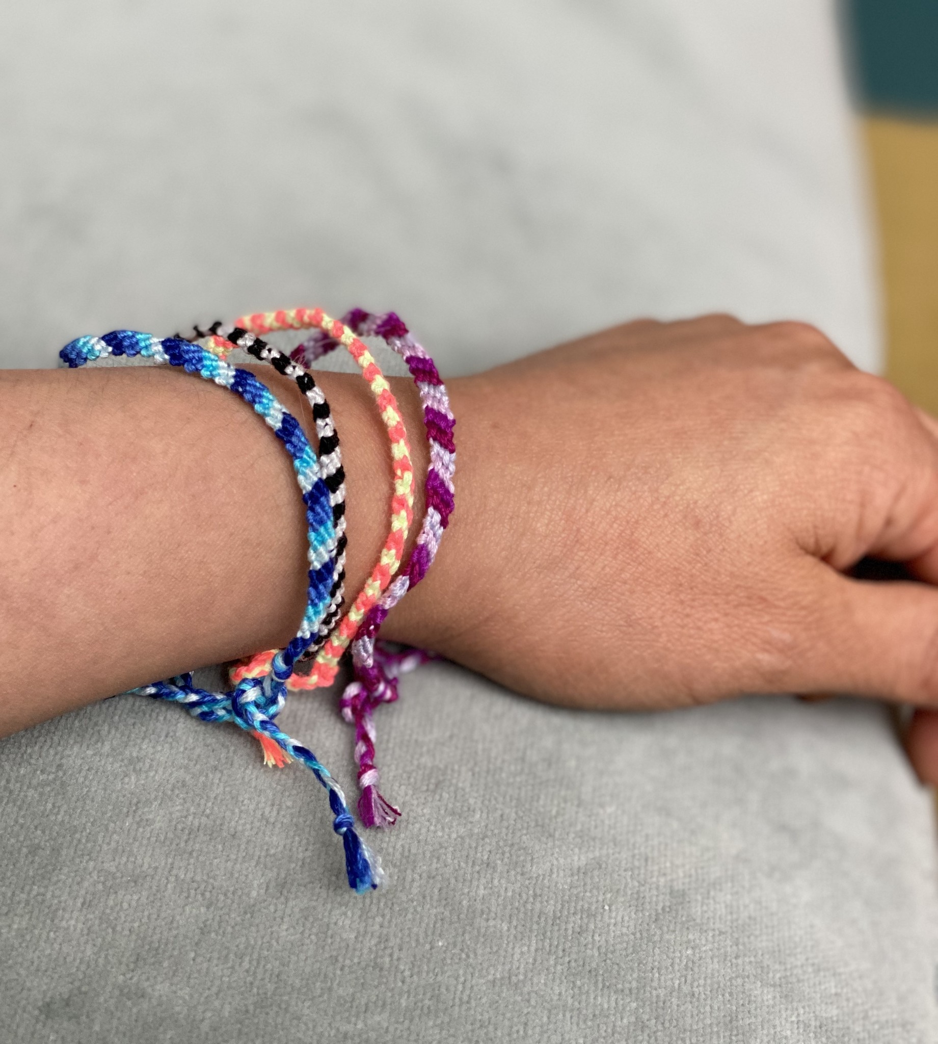 Care Bracelet- Cotton Braided