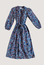 Velvet Velvet Beau Floral Cotton Dress with Tie Waist