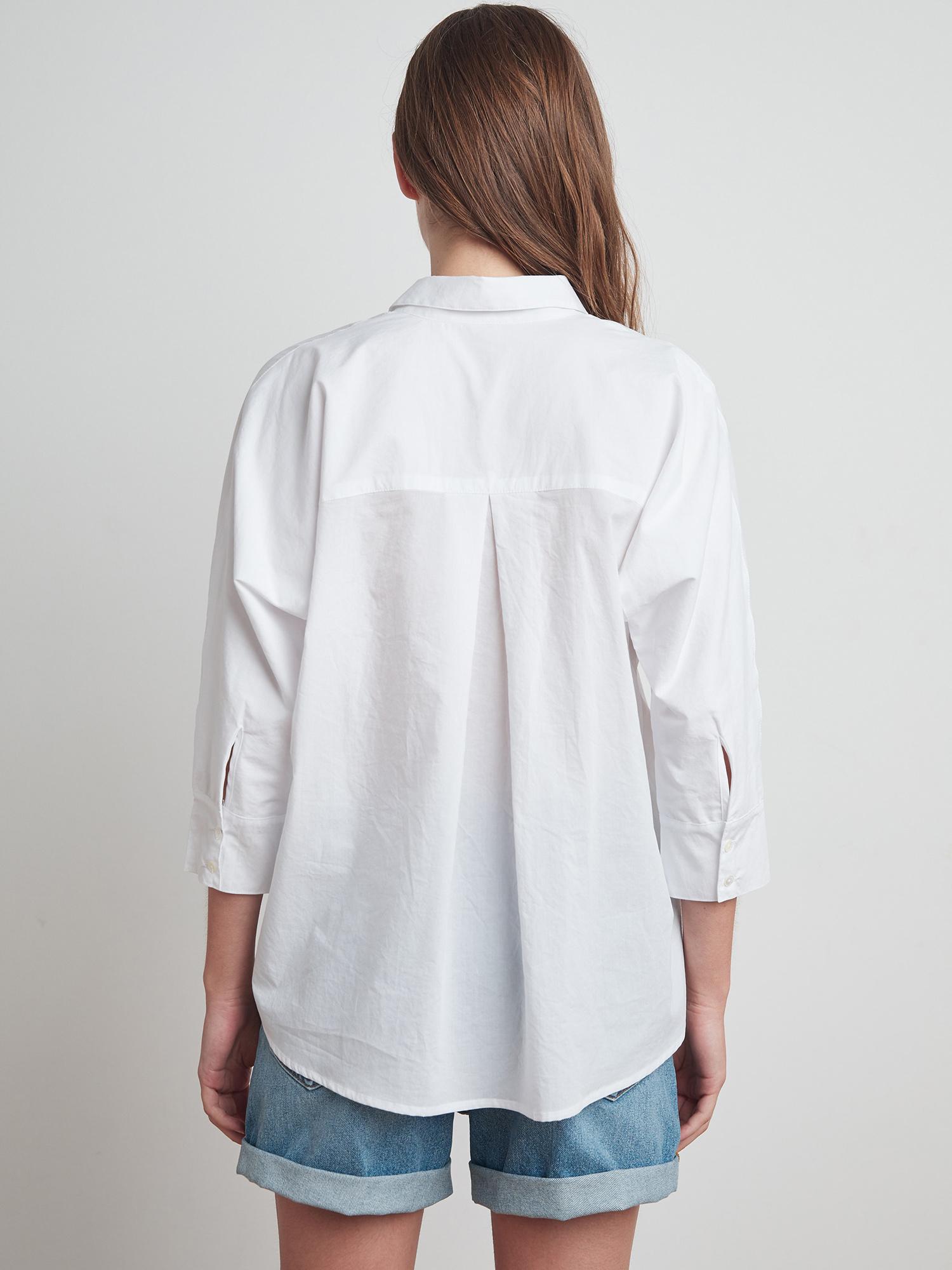 Velvet Velvet Button Down Dolman Shirt