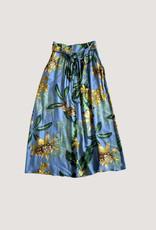 Diega Diega Johano Floral Silk Blend Skirt