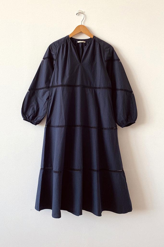 Ne Quittez Pas Plain Lace Dress - S