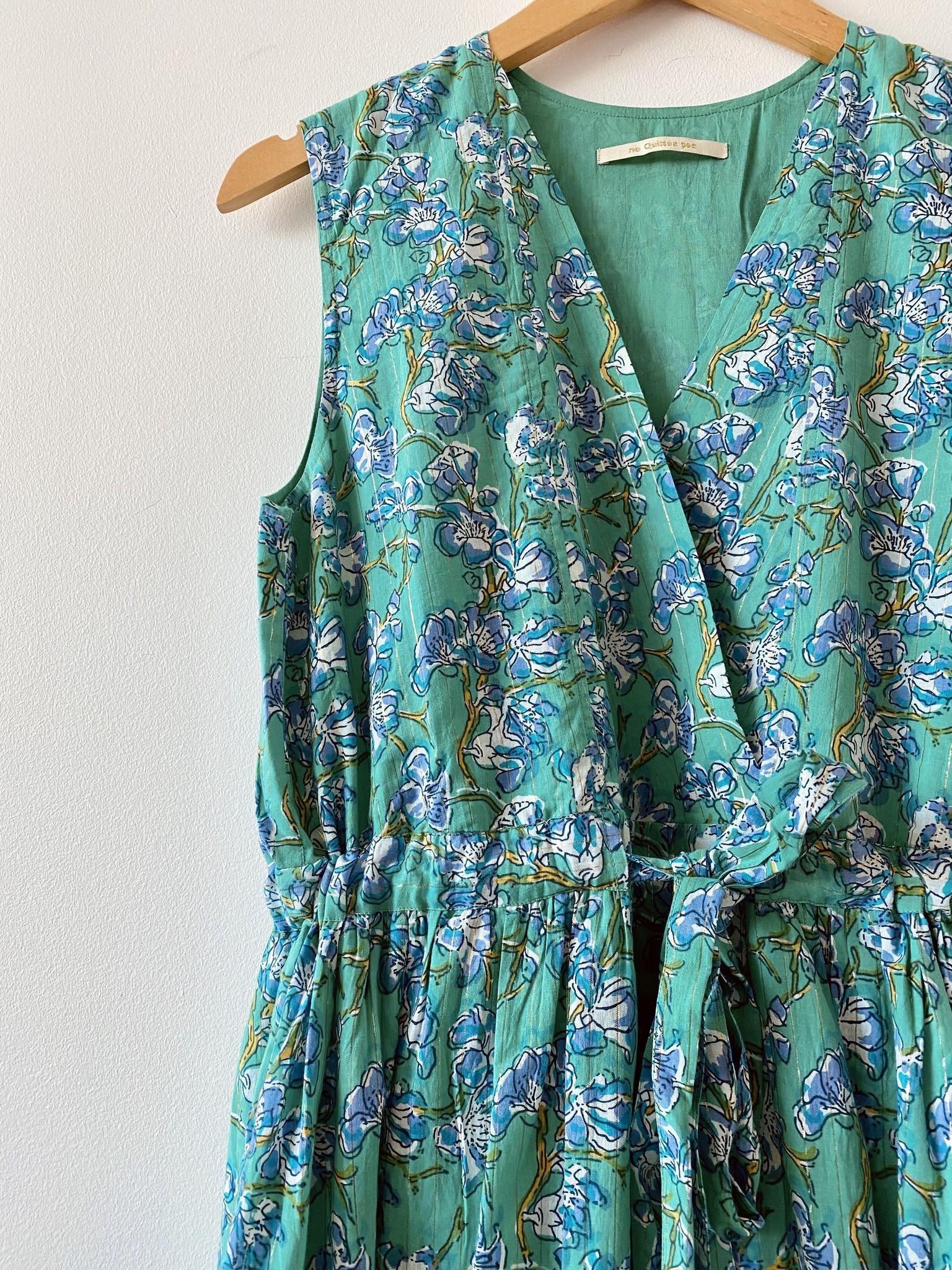 Ne Quittez Pas Floral Lurex Dress