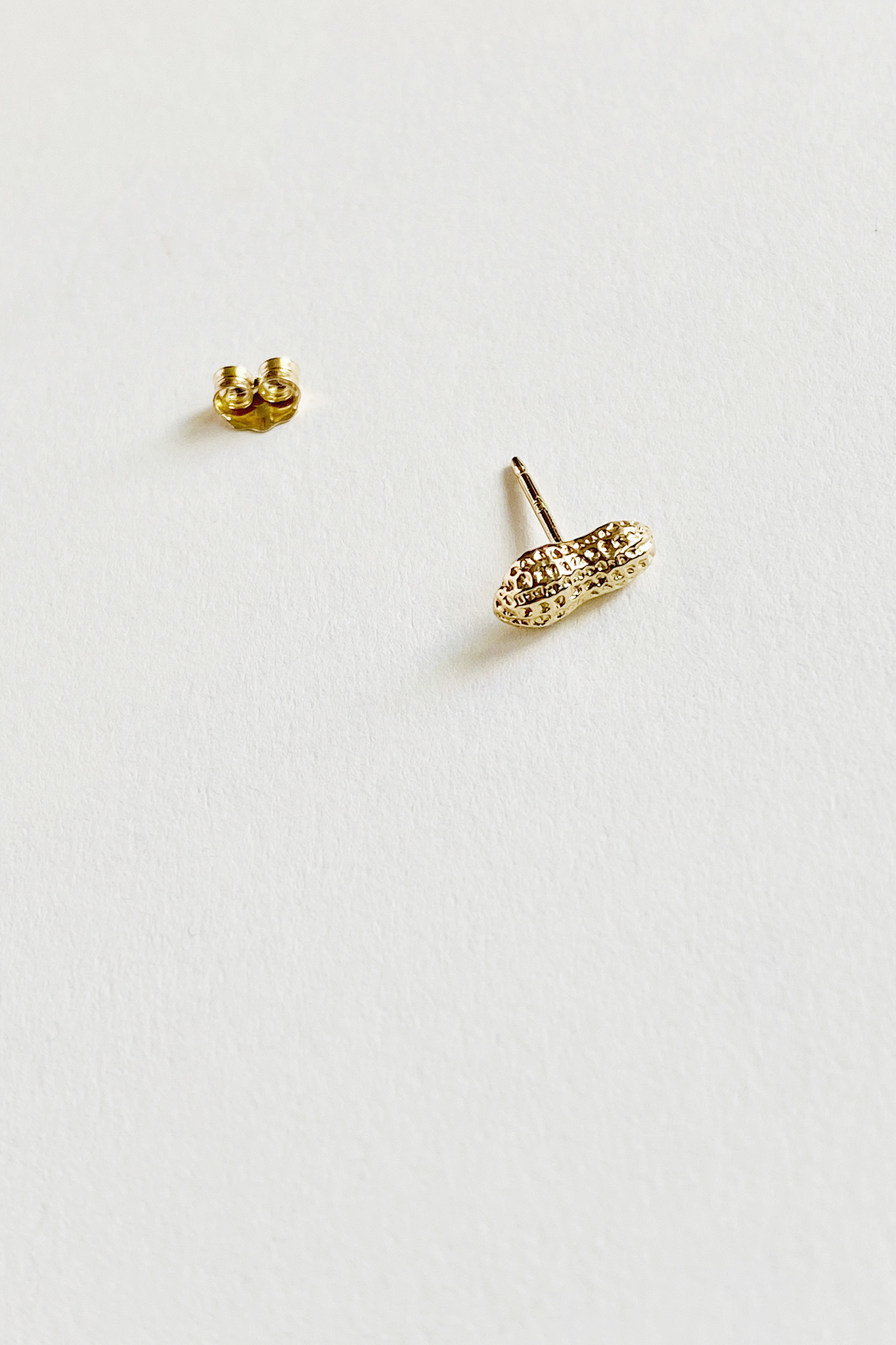 Hannah Rawe 10kt Gold Stud with Gold Fill Post - Singles