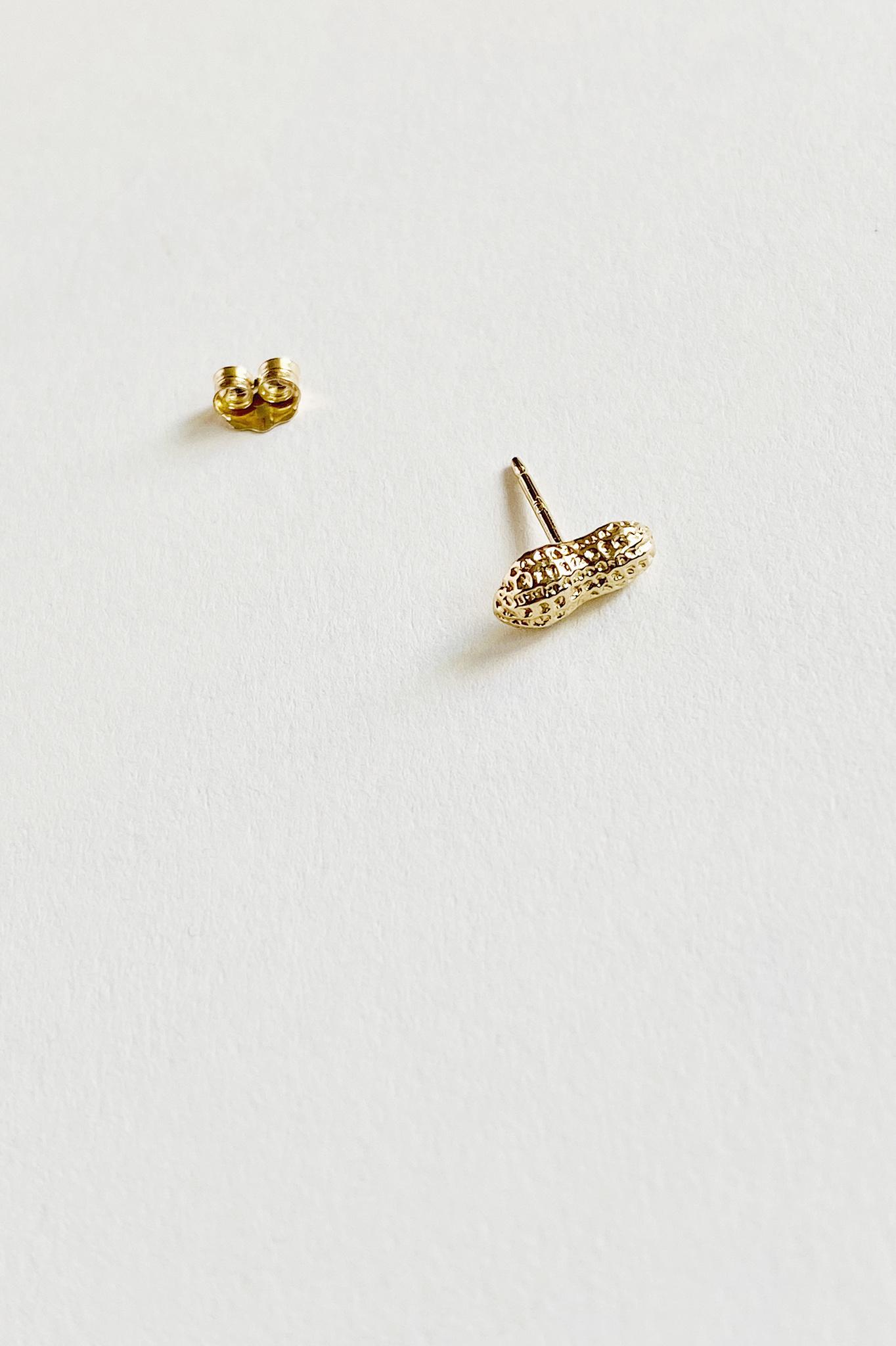 Hannah Rawe 10kt Gold Studs Various Shapes