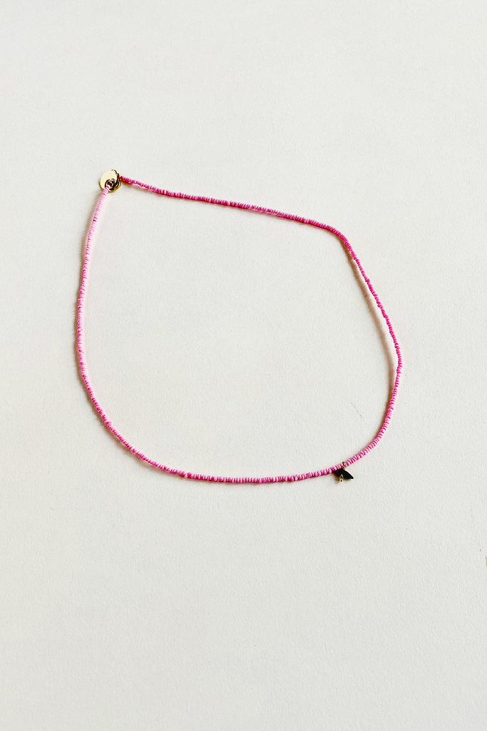 Tassia Canellis Beaded Miami Necklace
