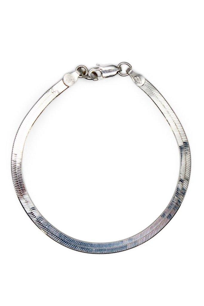 Amanda Hunt Amanda Hunt Liquid Chain Bracelet Silver