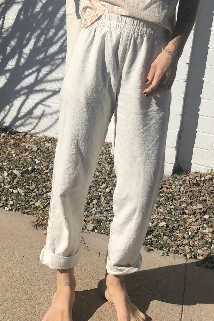 PO-EM Hand-Spun Cotton Lounge Pants