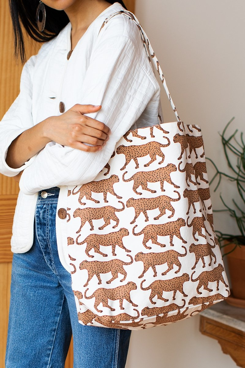 Emerson Fry Emerson Fry Cheetah Tote Bag