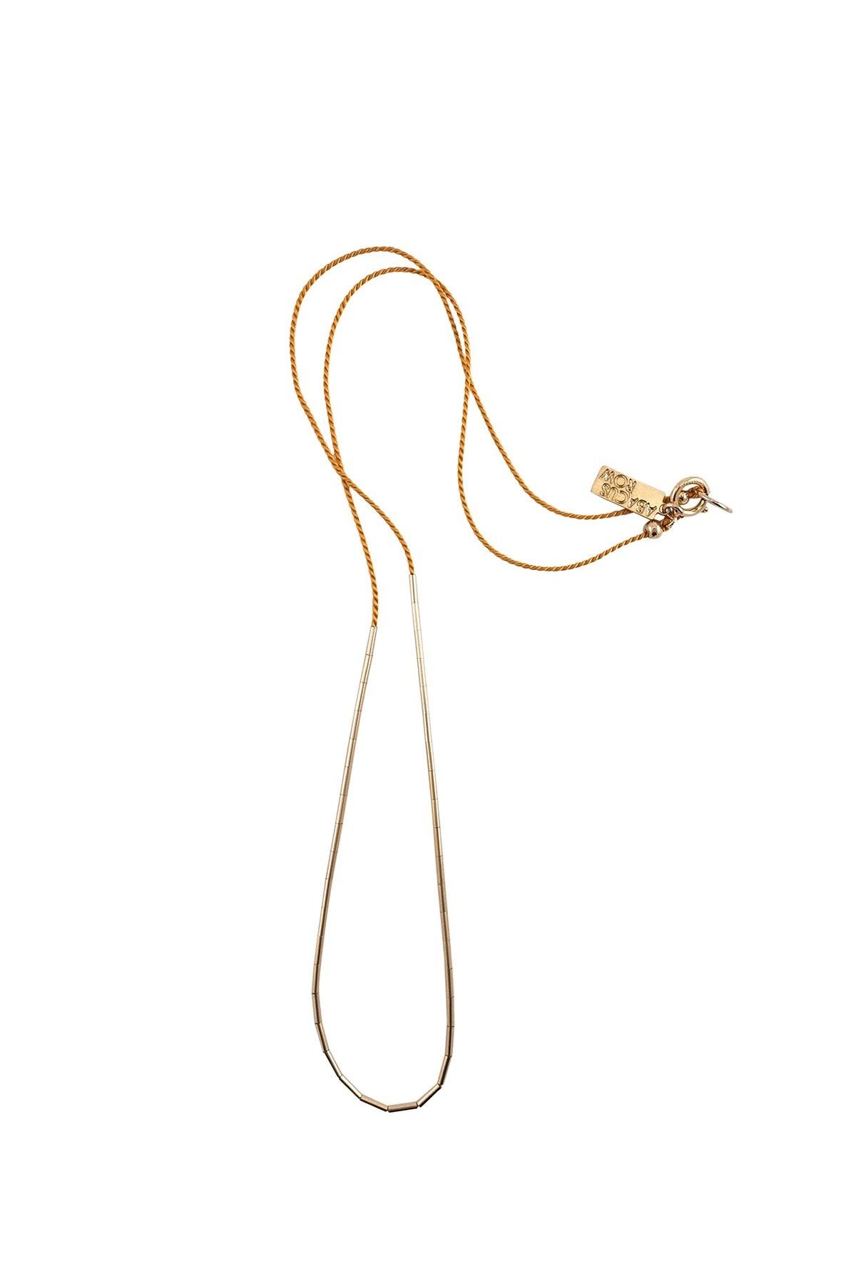 Abacus Row Circinus Necklace Clay