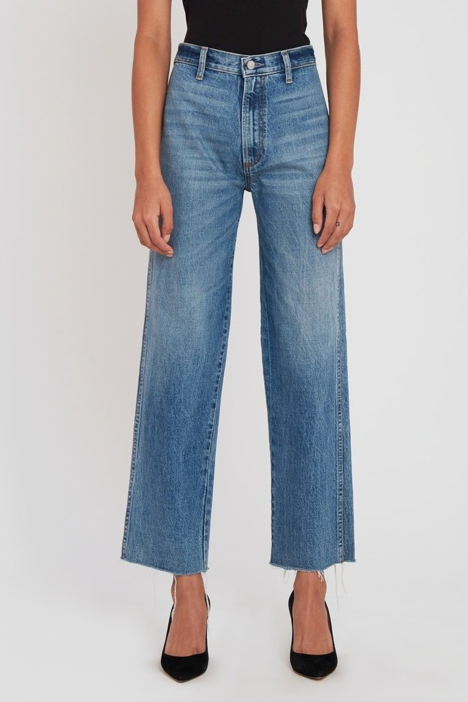 Boyish The Kirby Vintage High-Waisted Straight Leg Jeans