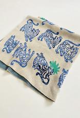 Nico Nico Dancing Tigers Knit Blanket