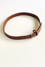 dePalma dePalma Mon Senor Brown Leather Belt