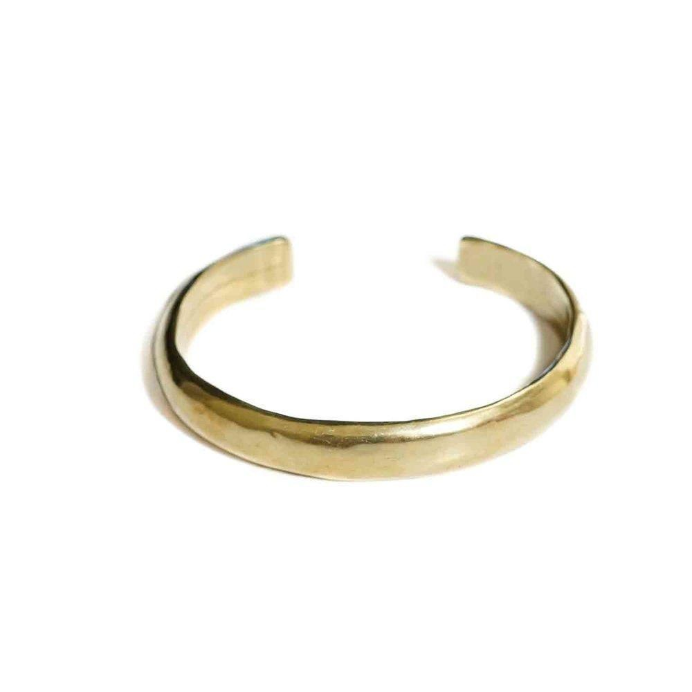Marisa Mason Tahoma Brass Cuff Bracelet